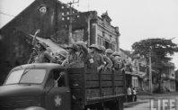 Quân đội Việt Minh tiếp quản Thủ đô năm 1954