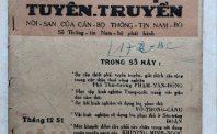 Mặt trận Dân tộc Giải phóng Miền Nam Việt Nam đã vận dụng báo chí cách mạng như thế nào? (Kỳ I)