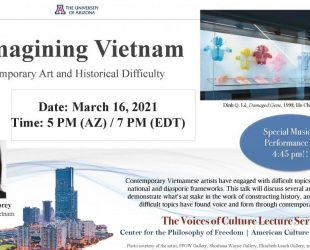 Voices of Culture: Pamela Nguyen Corey & Reimagining Vietnam: Contemporary Art and History Difficulty